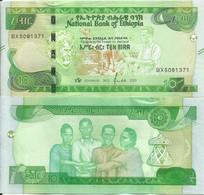 Ethiopia 10 Birr 2020. UNC - Etiopía