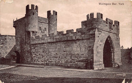 England Yorkshire York Walmgate Bar  Anno 1920   Barry 6976 - Other
