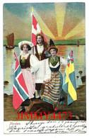 Postkarte - NORDEN  Basse-Saxe Allemagne - A. V. Kbh. Eneret 1904 . Ser : 6/5 - - Norden
