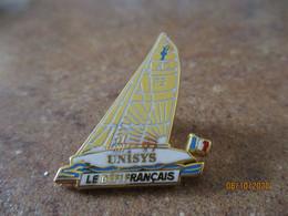 Pin's Neuf Arthus Bertrand Unisys Le Defi Francais - Arthus Bertrand
