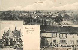 57 , Gruss Aus ETZLINGEN , *  451 74 - Other Municipalities