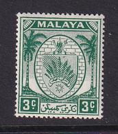 Negri Sembilan: 1949/55   Arms     SG44    3c     MH - Negri Sembilan