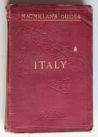 Ancien Guide Macmillan Italy 1904 Italie Nombreuses Cartes - 1900-1949