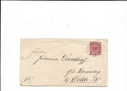Brief Aus Sassenberg Nach Oelde 1898 - Brieven En Documenten