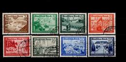 Deutsches Reich 702 - 713 Ex  Kameradschaftsblock Gestempelt Used (1) - Usados