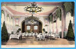 Hotel Wildenmann, Männedorf 1913 - Grosser Saal Für Hochzeiten Und Gesellschaften - ZH Zurich