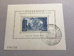 Luxembourg Block 6 , Gestempelt Top! 1946 - Blocs & Feuillets
