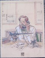 Juillard - Blake Et Mortimer - Le Baton De Plutarque - Ex Libris Super Heros - Illustratoren J - L