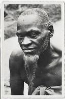 Afrique, Moyen CONGO, (A.E.F) Chef De Village, Scan Recto-Verso - Gabon