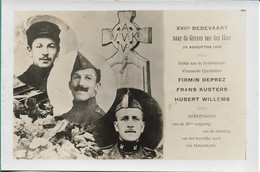Bedevaart Naar De Graven Van De IJzer - Oorlog 1914-18