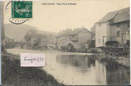 VUILLAFANS Vieux Pont Et Moulin - Andere Gemeenten