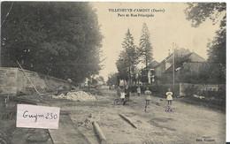 VUILLENEUVE D'AMONT Parc Et Rue Principale - Andere Gemeenten