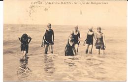 Cpa Malo Les Bains - Groupe De Baigneuses . - Malo Les Bains