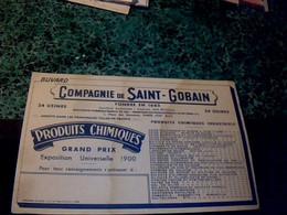 Buvard D'occasion Compagnie De Saint-Gobain - S