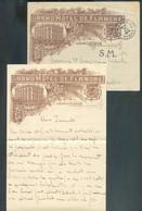 Enveloppe Avec Contenu Du GRAND HÔTEL De FLANDRE Obl. Sc NAMUR 1 Du 13-VIII-1914 (6 Jours Avant L'invasion Allemande) Ve - Invasión