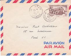 Mauritanie Oblitération De  ATAR 1953 - Covers & Documents