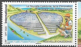 NEW CALEDONIA, 2020, MNH, POUEMOUT, LAND OF INNOVATION, ENERGIES, 1v - Altri