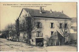 CPA  LA BASTIDE  Hôtel De La Gare   N° 35 - Altri Comuni