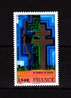 F 2020/ N**/  1,94 € Reprise Du N° YT 1941 / Général De Gaulle / Livret 50 Ans De L'Imprimerie - Nuovi