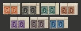 Egypt - 1936-37 - Pair - ( King Fouad Post ) - Complete Set - MNH** - Ungebraucht