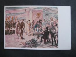 Künstlerkarte Amtliche Ausgabe Der Kunsthalle Bremen, Slevogt, Cortez  Vor Montezuma - Non Classés