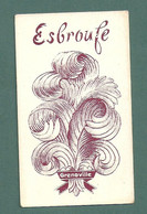 CARTE PARFUMEE PARFUM-Grenoville - Esbroufe - Oud (tot 1960)