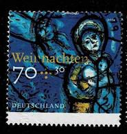 Bund 2018,Michel# 3418 O Weihnachten: Kirchenfenster - Gebruikt