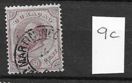 1870 USED Curaçao NVPH 9C STEMPEL SINT MAARTEN - Curaçao, Nederlandse Antillen, Aruba
