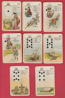 Ancien Jeu De 32 Cartes à Jouer ... Au Design Et Au Graphisme Particulier - 32 Cards