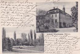 4812642Mähren, Schloss Wischenau. (sehr Kleines Falte Im Ecken) - Czech Republic