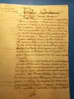 Pontoise 1766: Acte 4 Pages, Généralité De Paris, Port 2€ - Manoscritti