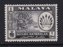 Negri Sembilan: 1957/63   Pictorial     SG68    1c       MH - Negri Sembilan