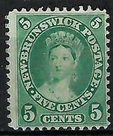 NOUVEAU BRUNSWICK: Le Y&T 6 Neuf(*) - Unused Stamps