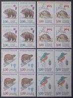 2763 - 1991 - NATURE DE FRANCE (SERIE COMPLETE) - N°2721 à 2724 BLOCS NEUFS** - Unused Stamps