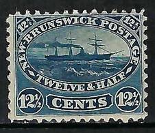 NOUVEAU BRUNSWICK: Le Y&T 8 Neuf* - Unused Stamps