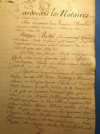 Pontoise 1793, 7 Pages, Timbre Expédition, - Manoscritti
