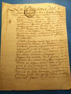 Pontoise 1766, Quittance De Rachat, Maréchal Ferrant Porte D'Ennery - Manoscritti