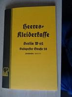 "Preiskatalog ""Heeres Kleiderkasse 1939 - Catalogues"