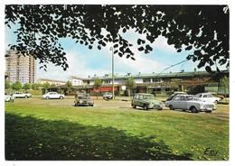 76 - CANTELEU - Centre Commercial Et La Tour Comté De Foix - Ed. Le Goubey N° 2 - Voitures, Citroên Ami8 - Canteleu
