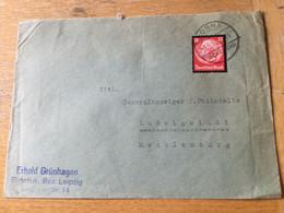 K13 Deutsches Reich 1935 Brief Von Borna - Cartas