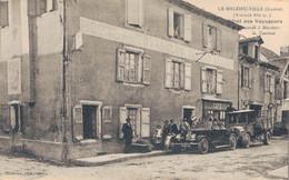 J133 - 48 - LE MALZIEU-VILLE - Lozère - Hôtel Des Voyageurs - Recommandé à Messieurs Les Touristes - Andere Gemeenten