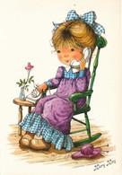 Illustrateur - Mary May - Fillette Au Téléphone - Other Illustrators