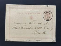 EP 1874 3 NOV - DC YPRES - Cartoline [1871-09]