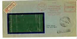 Lettre Recommandé  Roumanie 1947 Vers La Suisse Via Air Mail - 2. Weltkrieg (Briefe)