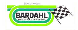 BARDHAL SPECIAL OILS YEAR 1990 - Stickers