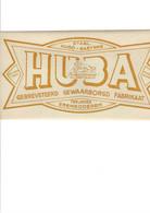 Erembodegem HUBA (hubert Baetens) Aan De Overweg In Terjoden - Sticker - Historical Documents