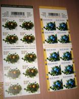 3981/82** Boekje 107** én 108**  Kerstmis Van 2009 / Noël / Christmas /  Weihnachten / Navidad / X-mas - Postzegelboekjes 1953-....