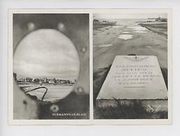 Hermanville-Plage Les Pionniers Alliés 5 Huin 1944 - Débarquement Zone De Combat (14 Calvados) - Weltkrieg 1939-45