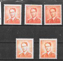 1074, A, B,1074p3,p3a, * *  Postfris Zonder Scharnier - 1953-1972 Glasses