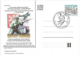 CDV 47 Slovakia Czechoslovak Units In UK - WW II 2000 - Seconda Guerra Mondiale